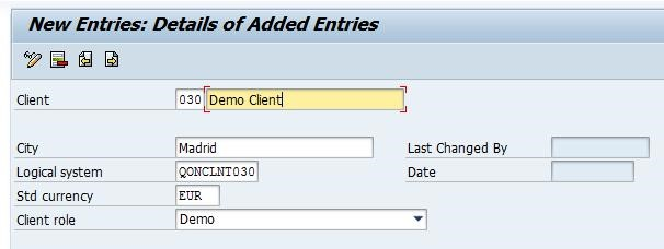 How to do a local client copy in SAP 3